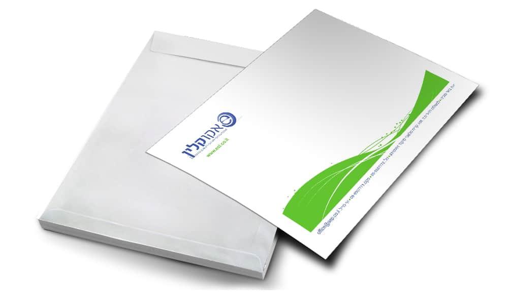 הדפסת מעטפות גדולות